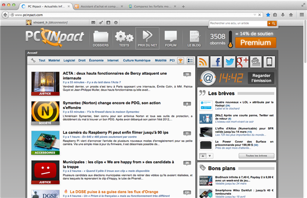 Firefox 29