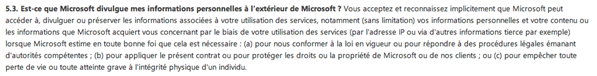 microsoft conditions service