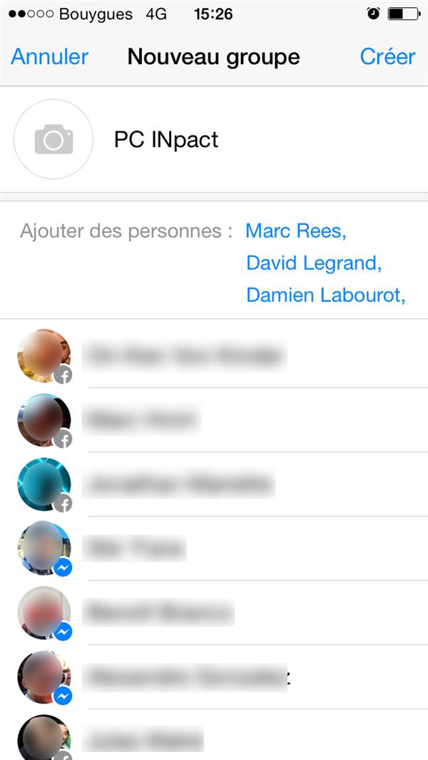 facebook messenger 4.0