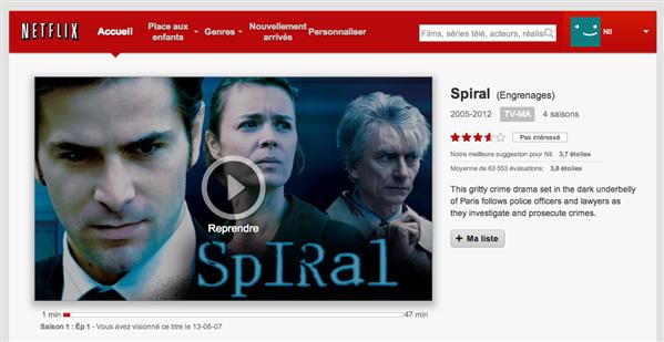 Netflix Engrenages