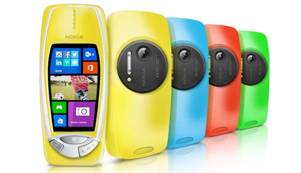 Nokia 3310 41 Mpixels