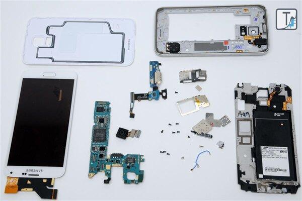 Teardown.com Galaxy S5