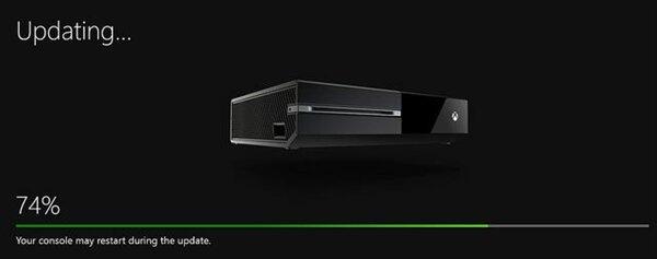 Mise à jour Xbox One
