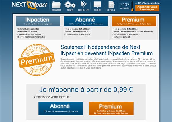 Promotion Abonnements Premium Paques