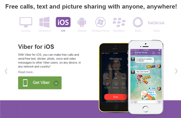 Viber iOS 7