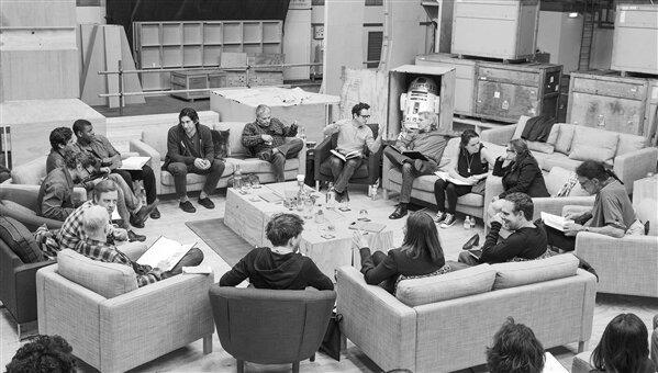 Star Wars Episode VII Equipe