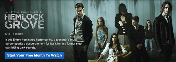 Netflix Hemlock Grove