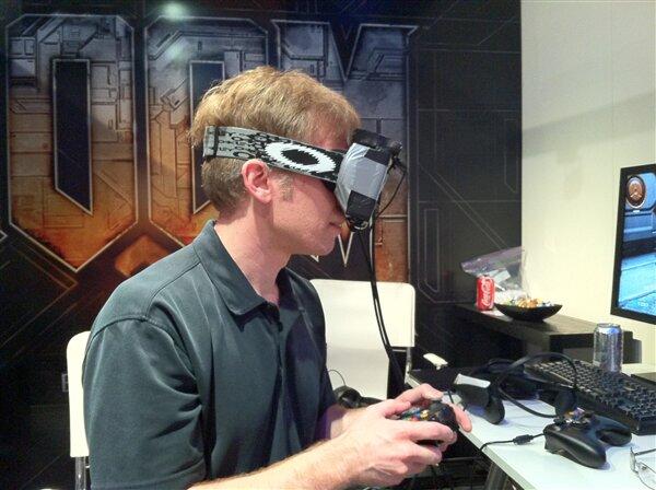 Carmack Oculus 2012 (Crédits GamesIndustry)