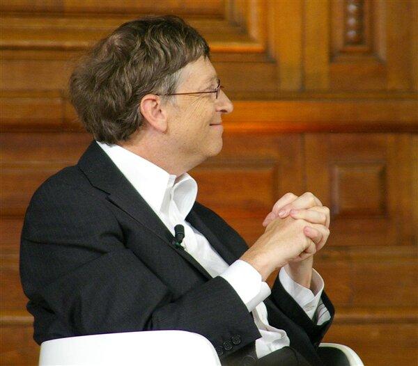 Bill Gates (Wikipedia) CC BY-SA 3.0