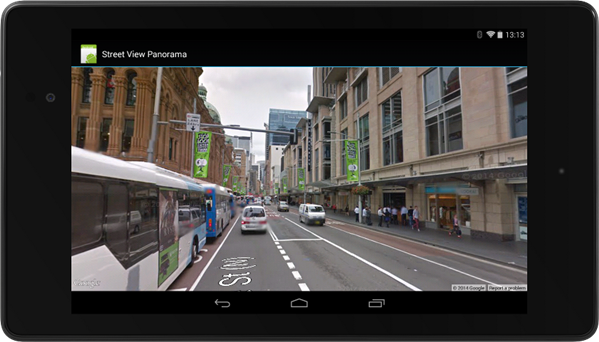 Stree View Play Services