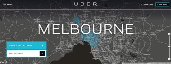 uber melbourne