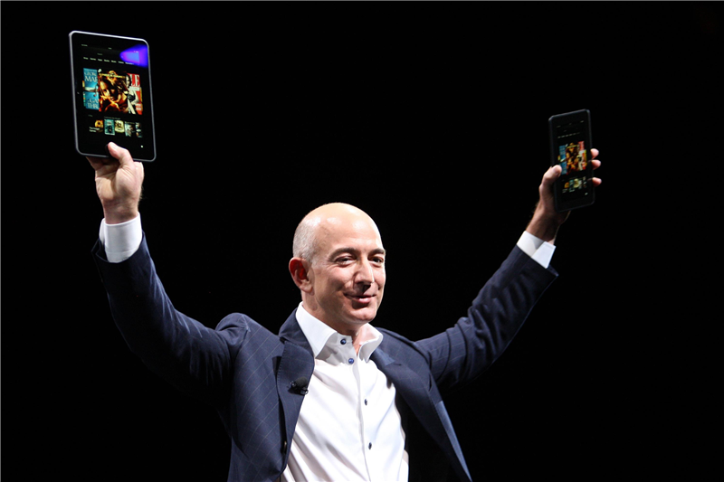Amazon Kindle Keff Bezos