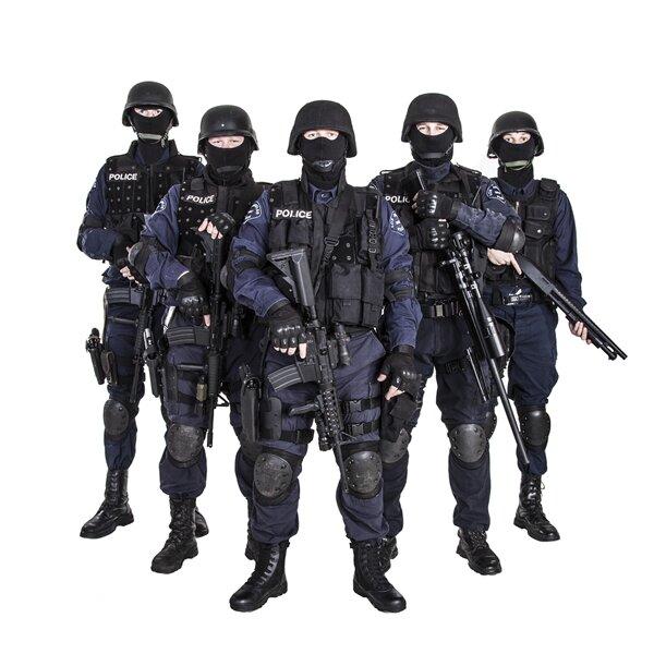 Police SWAT Terrorisme