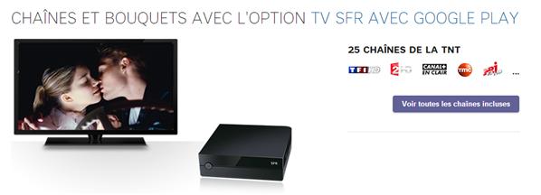 SFR decodeur TV