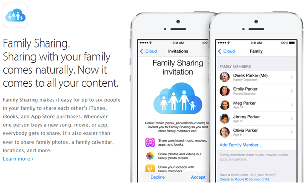 ios8 family share