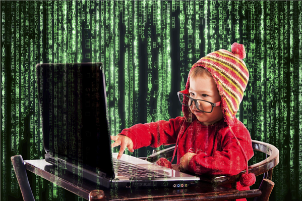 Enfant Développeur Matrix