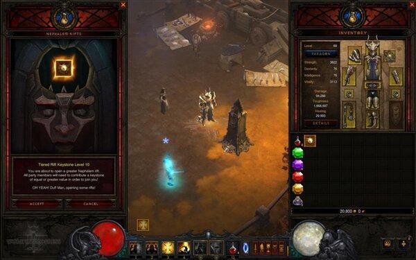 Diablo III Rifts