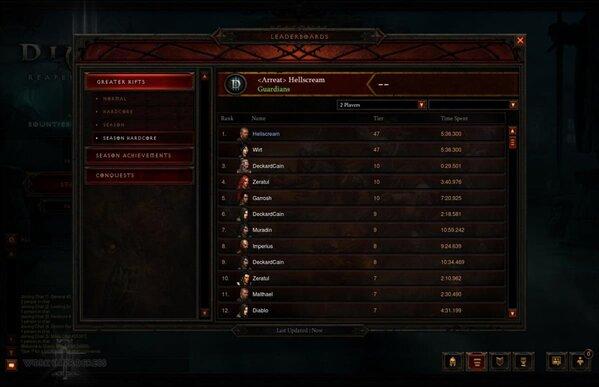 Diablo III Saisons