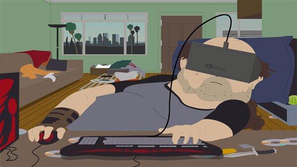 Oculus VR South Park