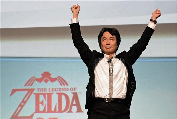 Shigeru Miyamoto Nintendo Zelda