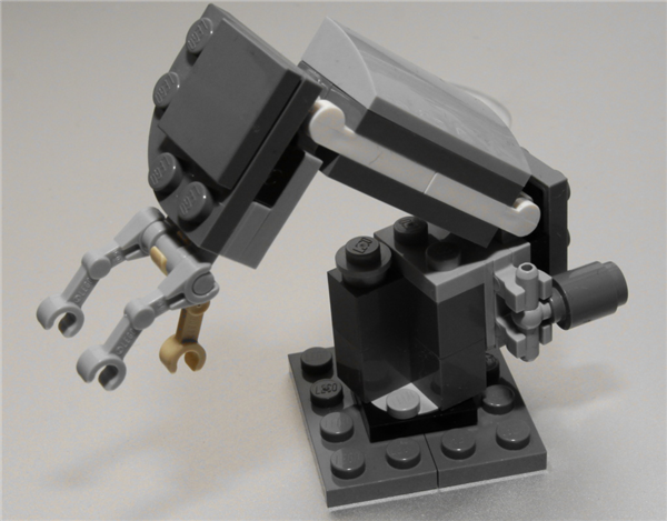 Bras robot Lego