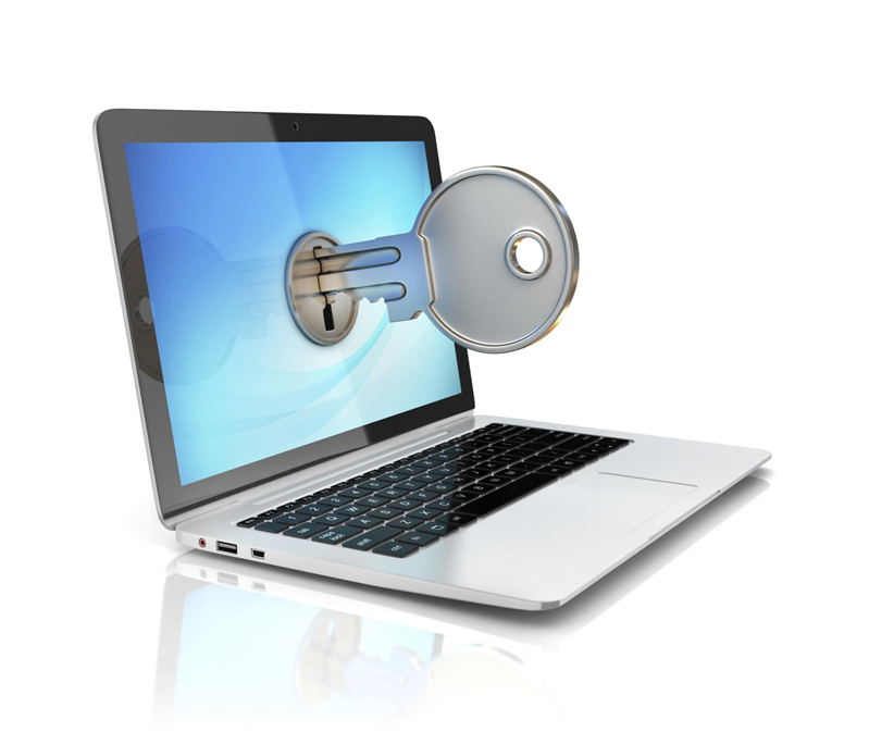 Mot de passe clé ordinateur