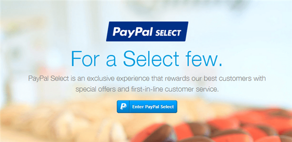Paypal Select