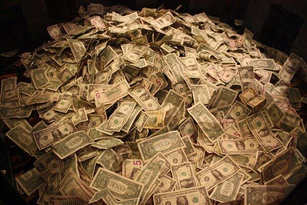 Argent monnaie dollars
