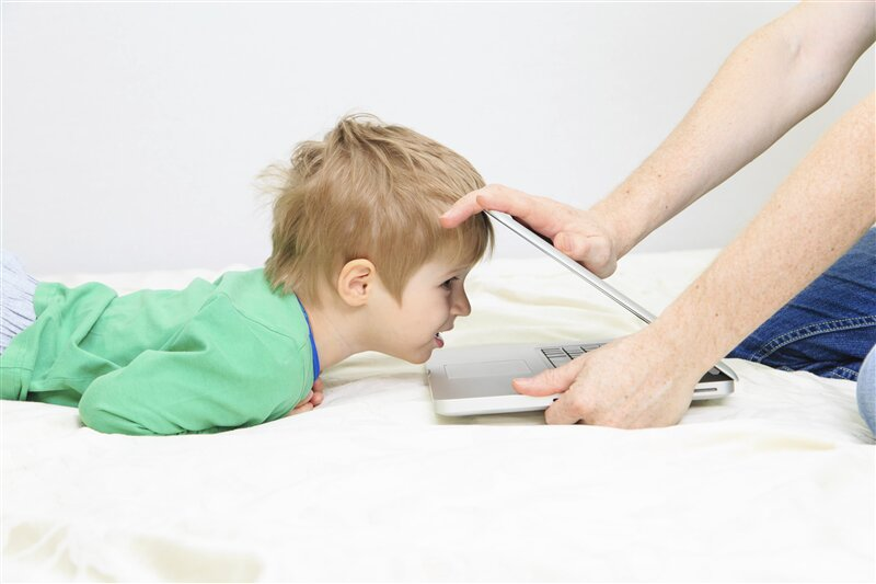 Enfant Ordinateur Informatique