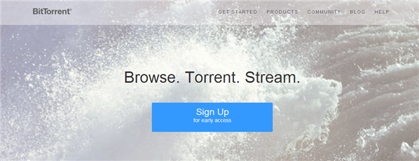 Bittorrent Browser
