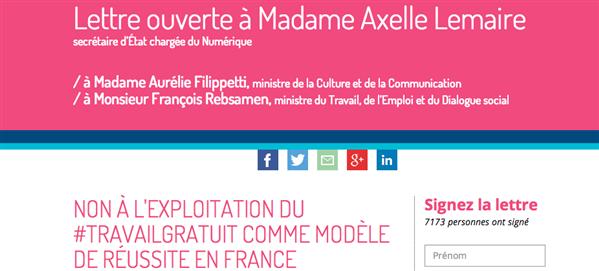 Travail Gratuit Graphistes Axelle Lemaire