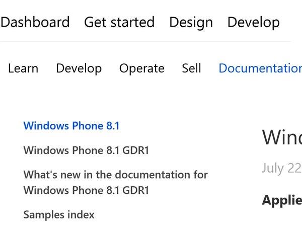 windows phone gdr1