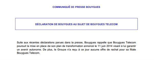 Bouygues Presse