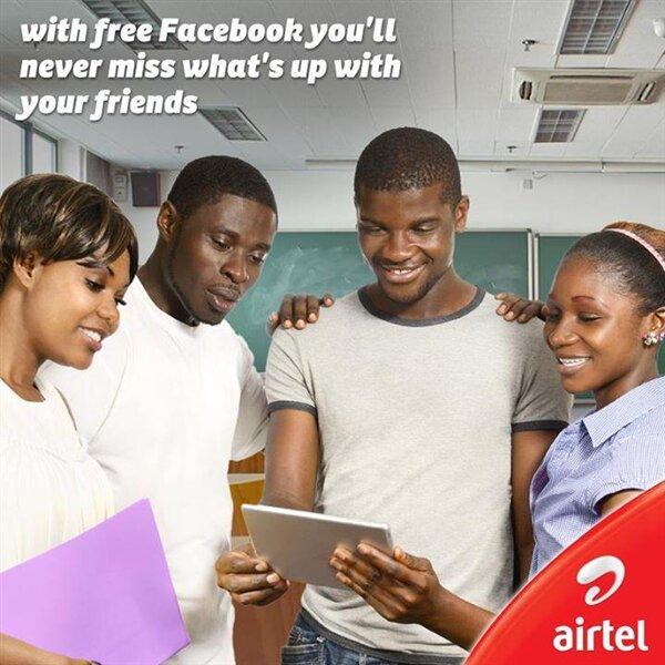 Facebook Free Airtel