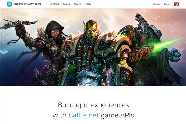 Battle.net API