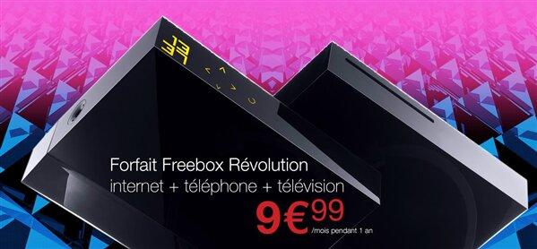 Vente-Privée Freebox Révolution