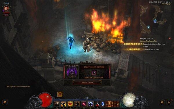 Diablo III Rift