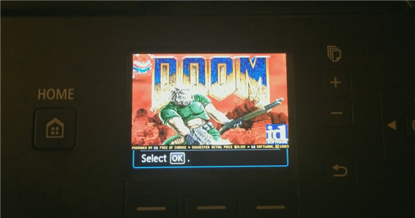 Doom Imprimante Canon