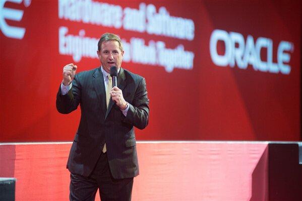 Oracle Mark Hurd