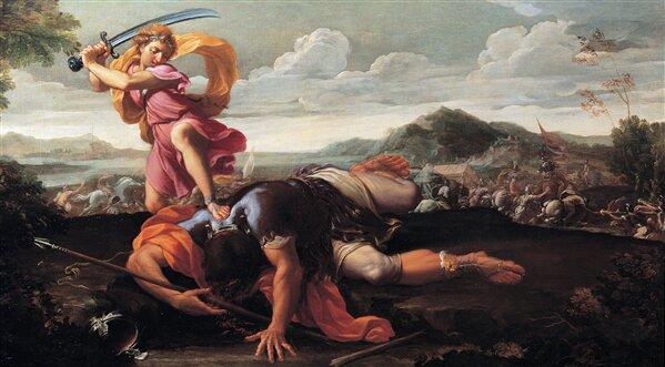 David et Goliath par Guillaime Courtois