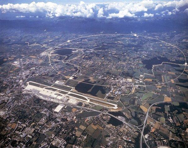 Anneau CERN