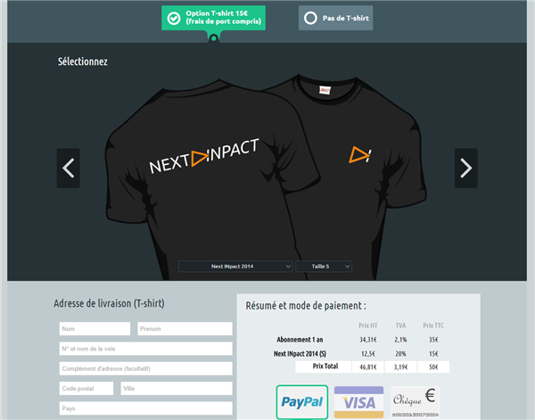 Next INpact v6 Connect Launch