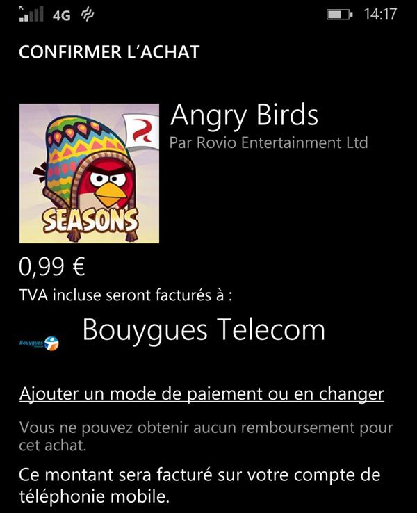 Bouygues Telecom Windows Phone