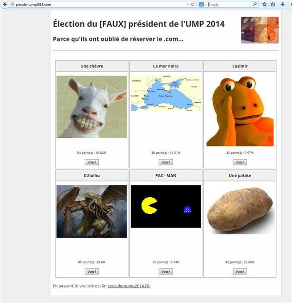 presidentump2014.fr presidentump2014.com