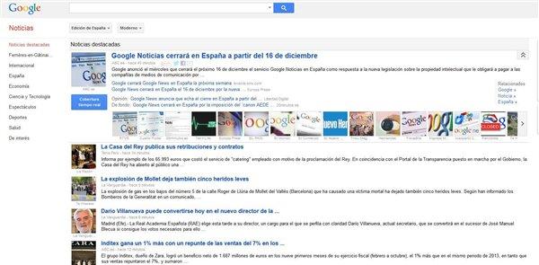 Google News espagne