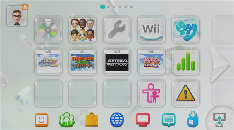 Jeux Wii sur Wii U