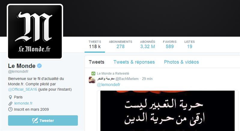 Twitter Le Monde