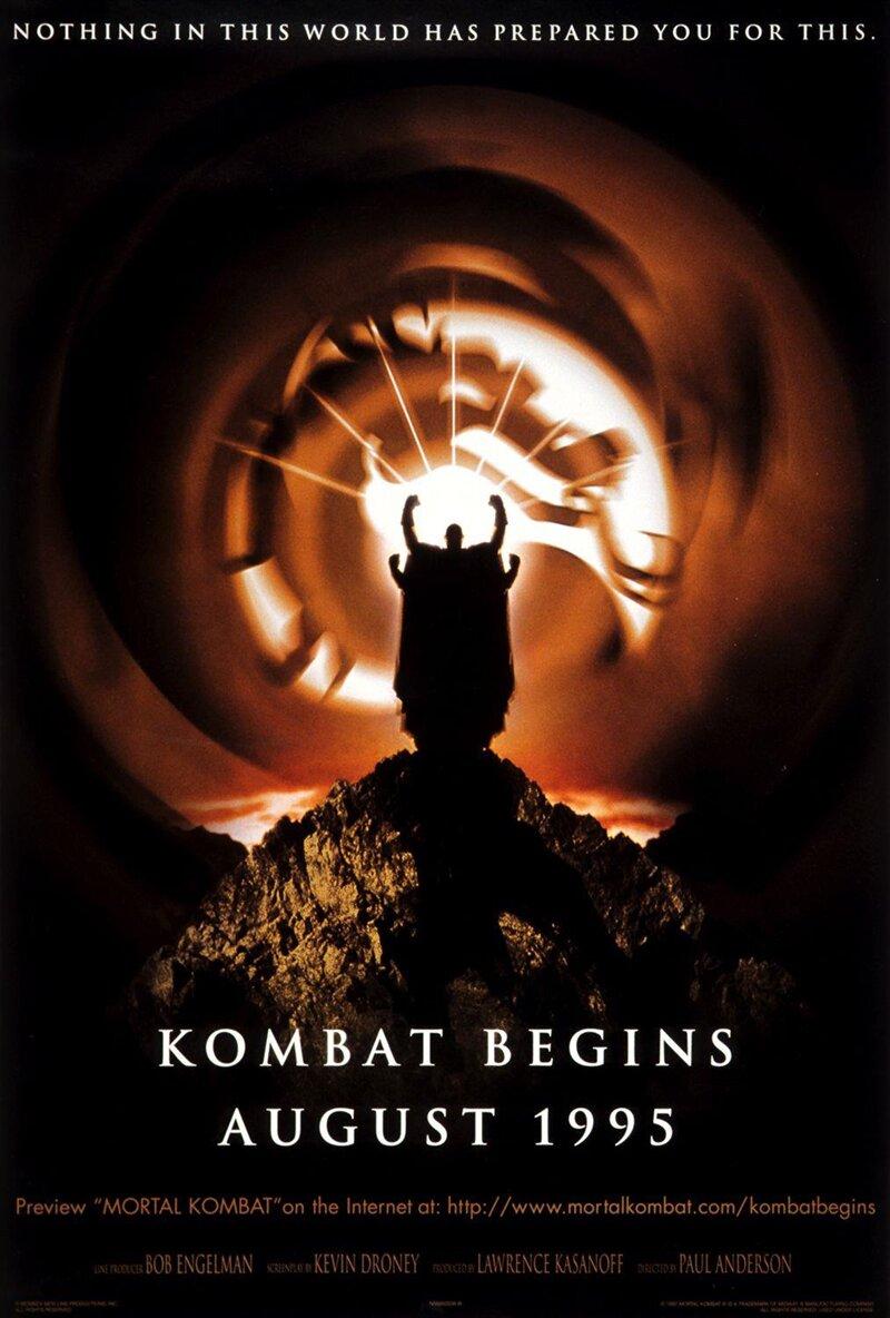 Mortal Kombat Film Affiche