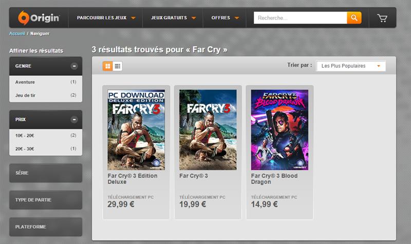 Far Cry Origin