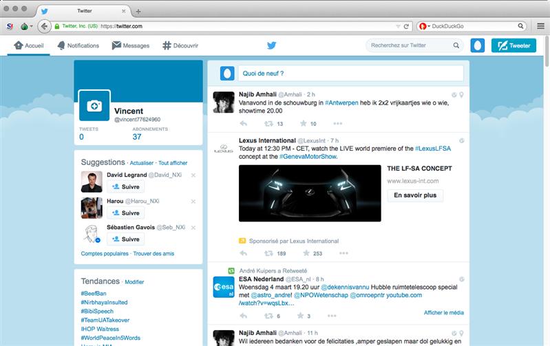 twitter tor browser